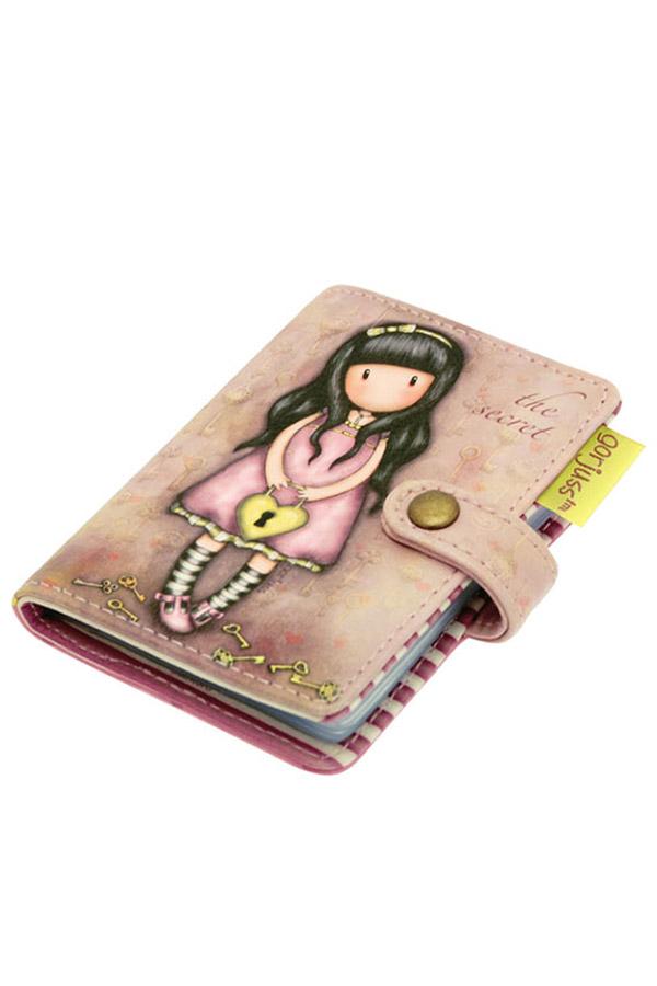 Θήκη για κάρτες δερματίνη Santoro gorjuss - The secret 583GJ03
