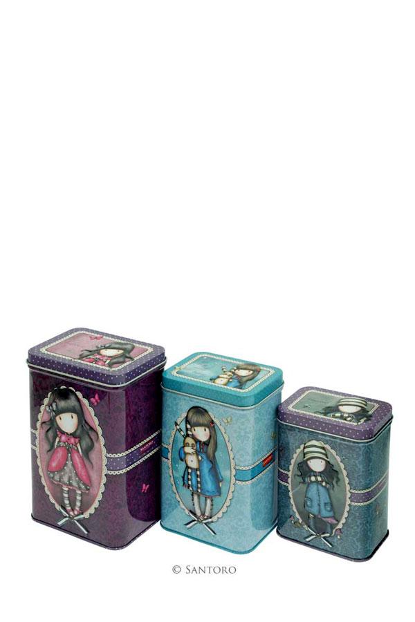 Μεταλλικά κουτιά Santoro gorjuss 509GJ01