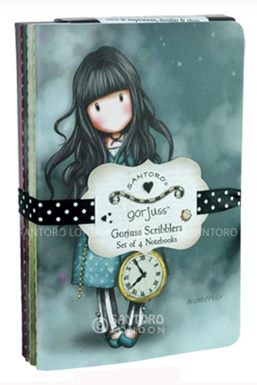 Σημειωματάρια τσέπης Santoro gorjuss - Gorjuss Scribblers 200GJ03