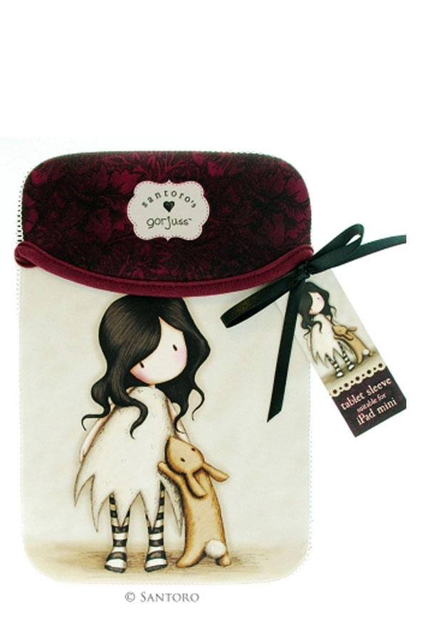 Θήκη για iPad mini Santoro gorjuss I love you little rabbit 375GJ02