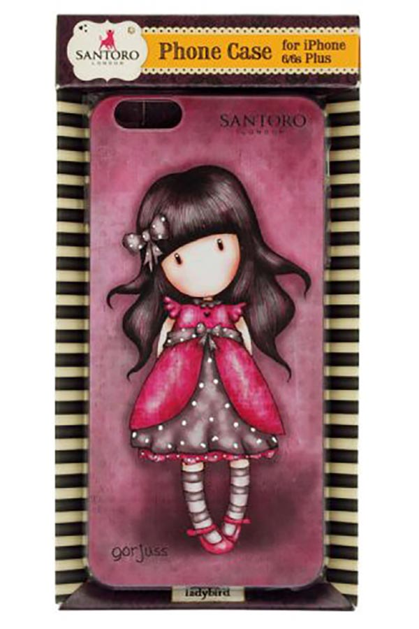 Θήκη για iPhone 6/6s plus Santoro gorjuss Ladybird 609GJ01