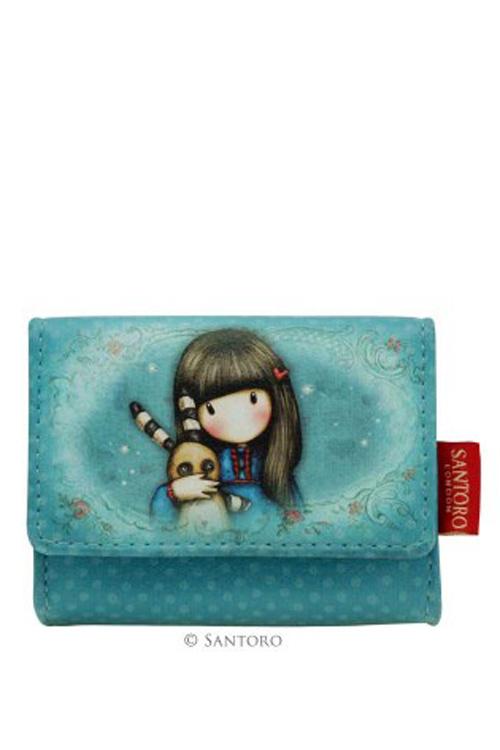 Θήκη για κάρτες δερματίνη Santoro gorjuss - Hush little bunny 463GJ01
