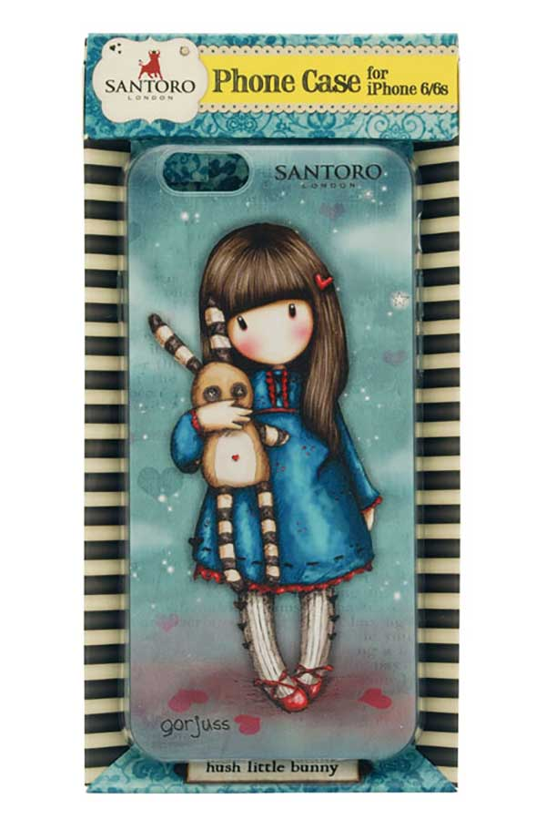 Θήκη για iPhone 6/6s Santoro gorjuss Hush little bunny 608GJ04