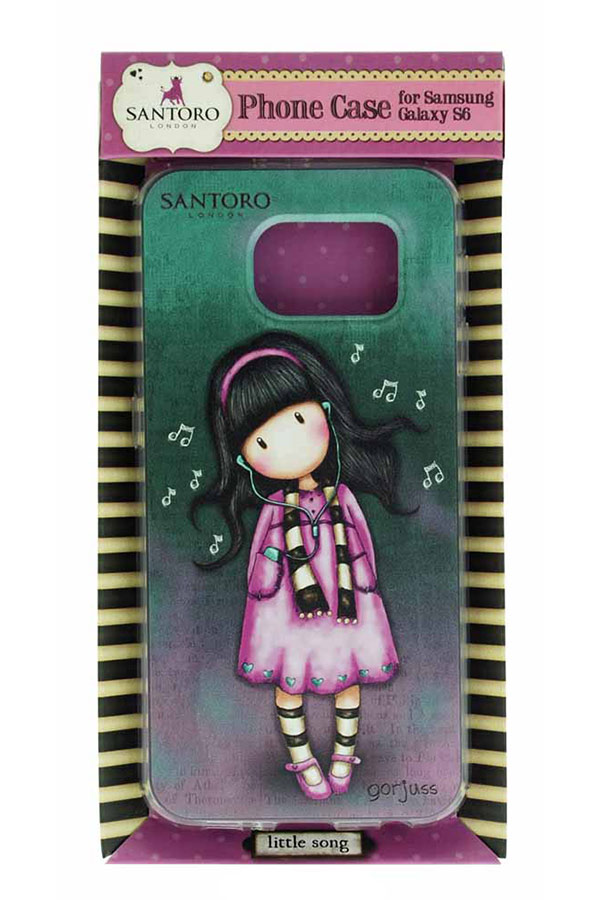 Θήκη για Samsung Galaxy S6 Santoro gorjuss Little song 610GJ01