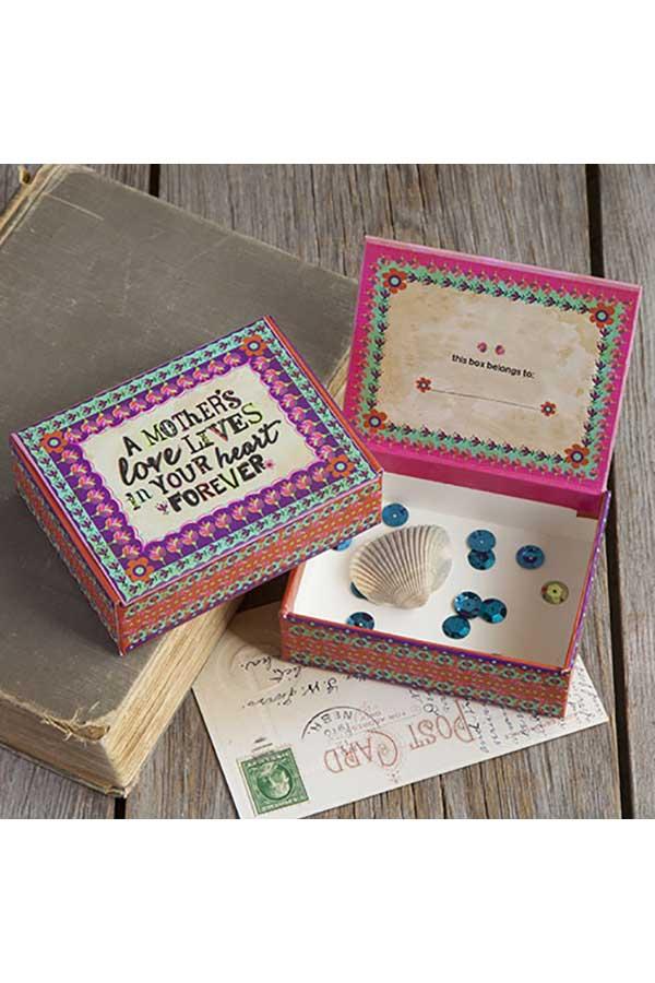 Χάρτινο κουτί μικρό Natural Life A mother΄ s love ... CBX010