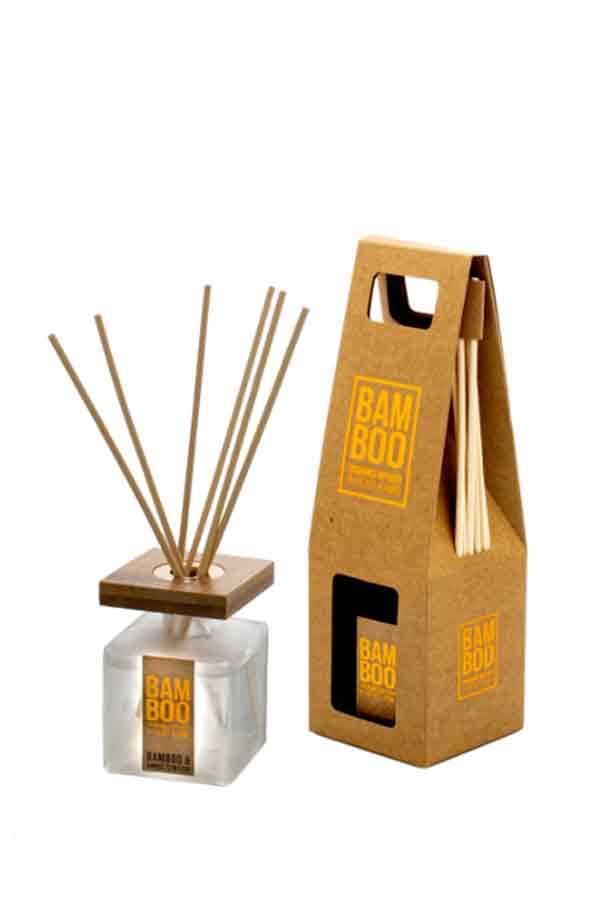 Αρωματικό χώρου bamboo 80ml Heart and Home Ανθός τζίντζερ 276720500