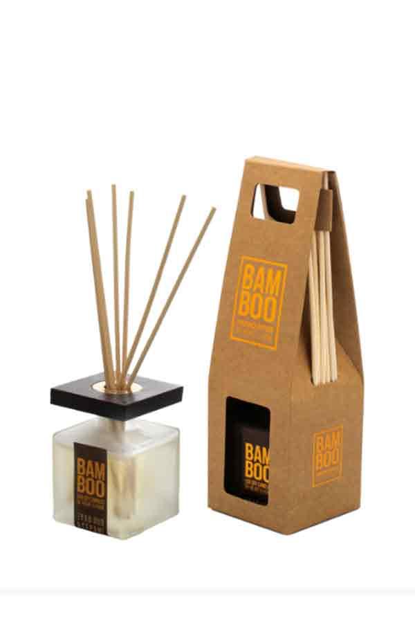 Αρωματικό χώρου bamboo 80ml Heart and Home Ξύλο oud και γεράνι 276720503