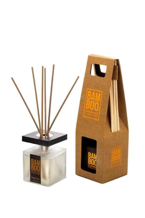Αρωματικό χώρου bamboo 80ml Heart and Home Ροδόξυλο και βανίλια 276720502