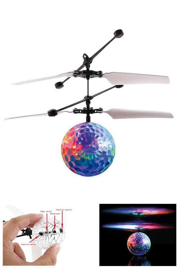 Mini drone ιπτάμενη μπάλα IR Total Ball i-total διάφανη CM3081