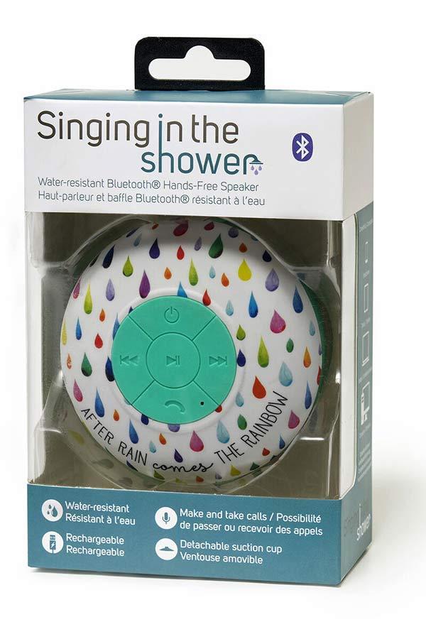 Ηχείο - Hands free μικρόφωνο bluetooth αδιάβροχο Singing in the shower LEGAMI SHOW0005