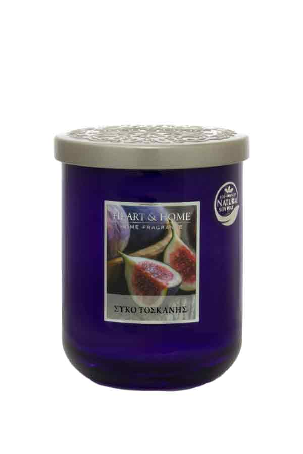 Αρωματικό κερί σε βάζο 115gr Heart and Home Σύκο Τοσκάνης 21276810600
