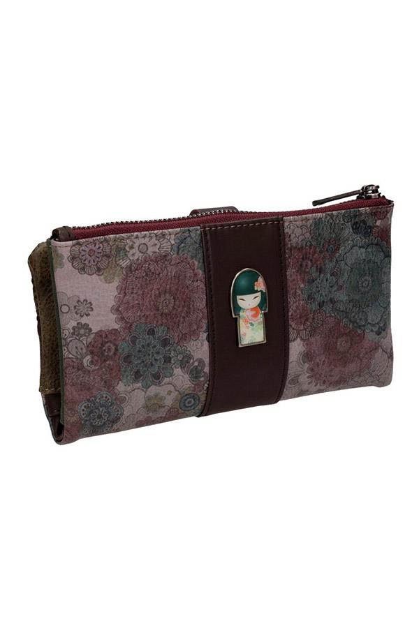 Kimmidoll Tamako 25679-6 πορτοφόλι μεγάλο με κουμπί Graffiti 25014