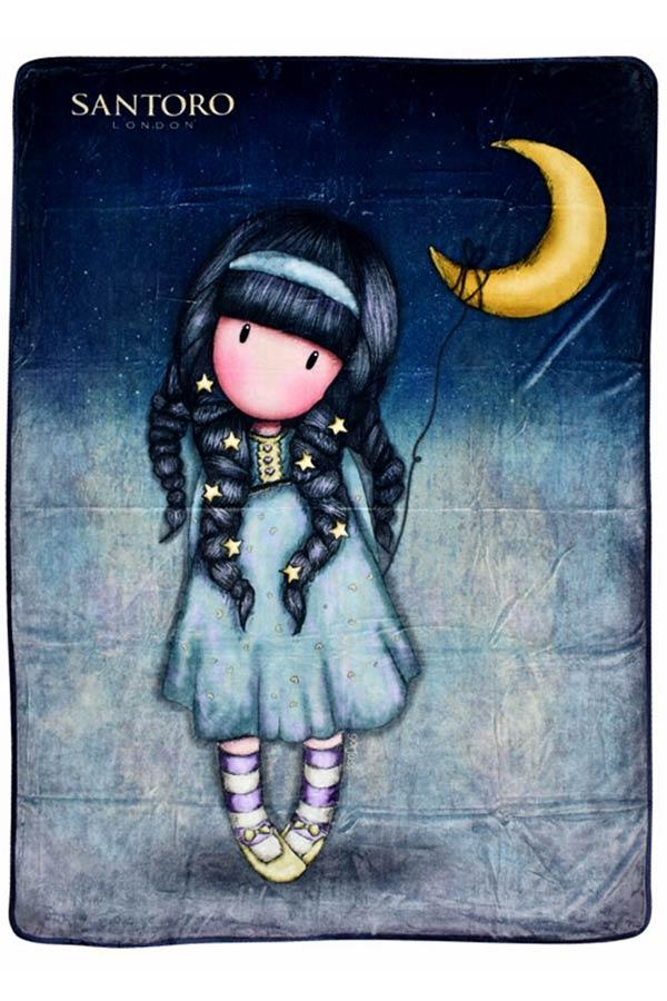 Santoro gorjuss Κουβέρτα fleece 140x210cm Moonlight SA07251