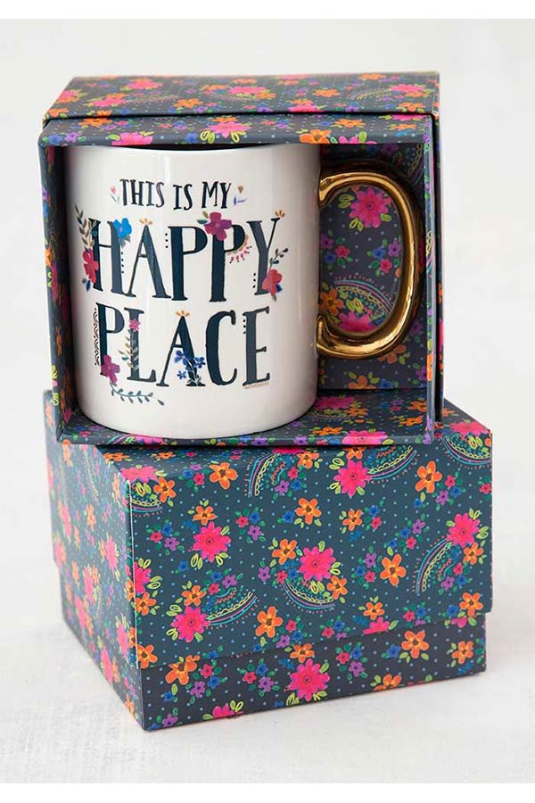 Natural Life Κούπα This is my happy place MUG132