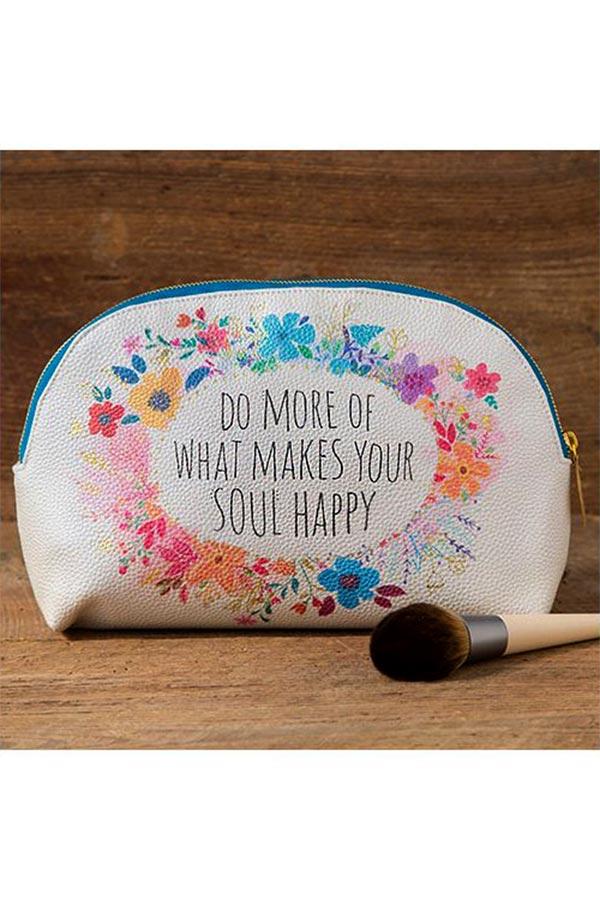 Natural Life Νεσεσέρ - Φάκελος χειρός Do more of what makes your soul happy BAG283