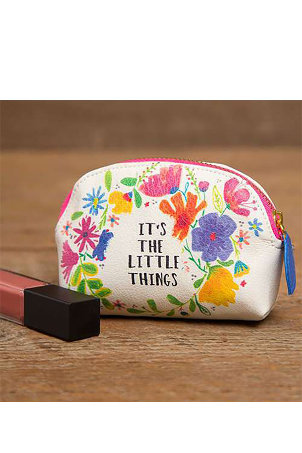 Natural Life πορτοφολάκι οβάλ It΄s the little things BAG259