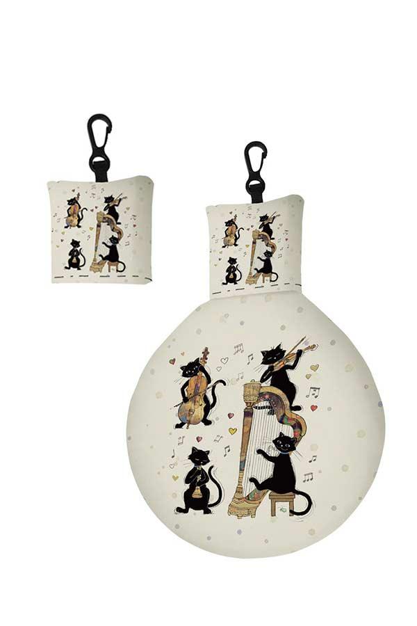 Μπρελόκ πανάκι καθαρισμού γυαλιών Bug art γάτες Kiub EL01A01