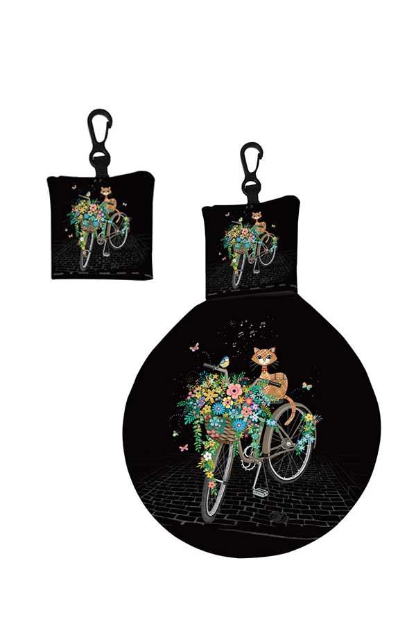 Μπρελόκ πανάκι καθαρισμού γυαλιών Bug art ποδήλατο Kiub EL01A01