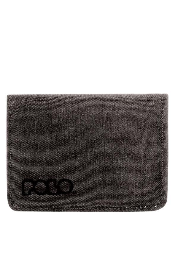 POLO Πορτοφόλι με φερμουάρ WALLET RFID SMALL γκρι 93801309