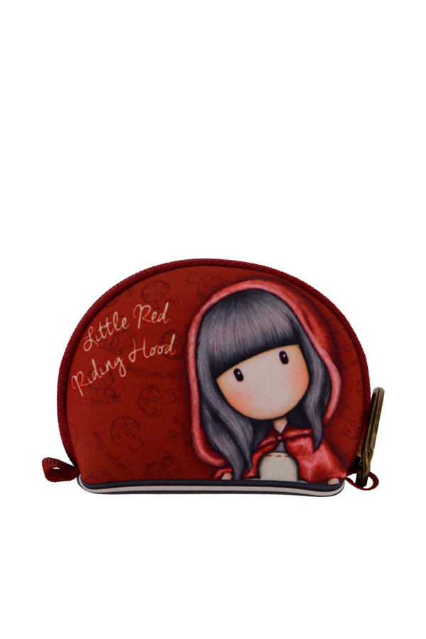 Santoro gorjuss Πορτοφόλι - Μπρελόκ Neoprene - Little red riding hood 369GJ23