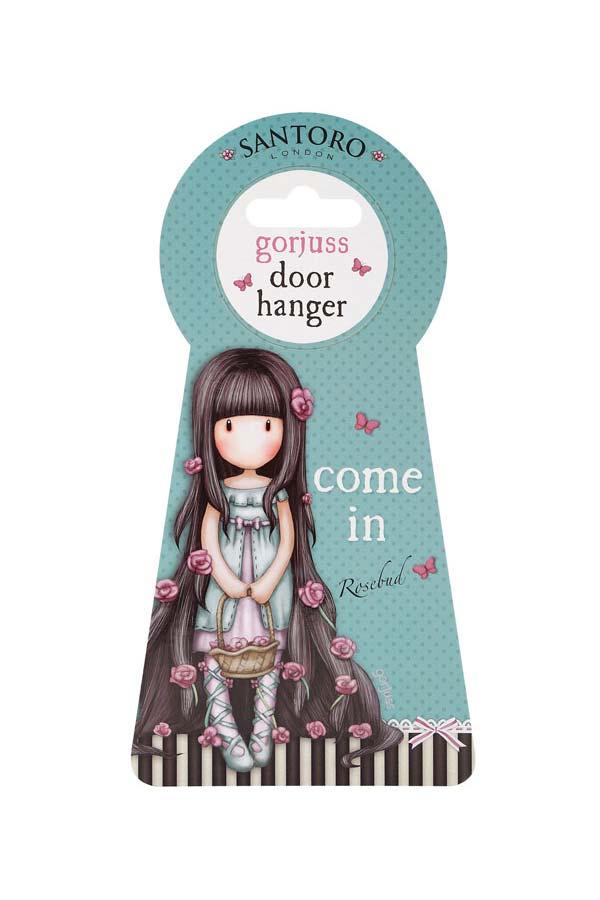 Santoro gorjuss Ταμπελάκι πόρτας κρεμαστό Rosie - The song 770GJ02