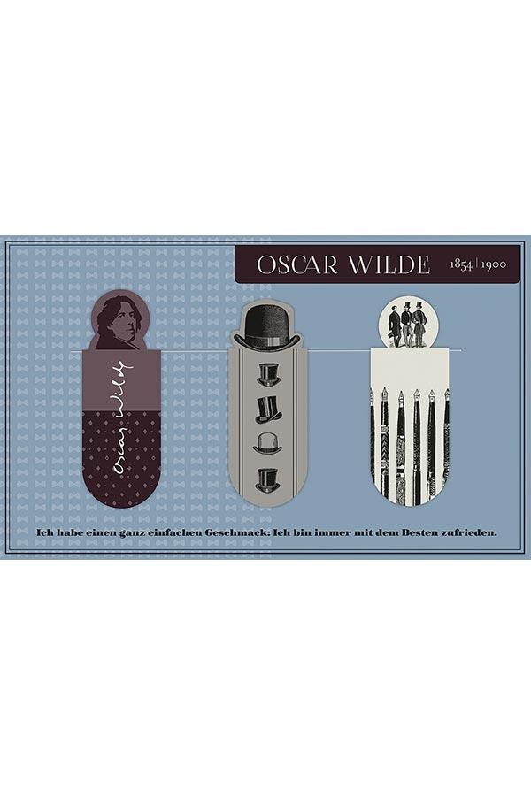 Σελιδοδείκτες μαγνητικοί moses Oscar Wilde 82756