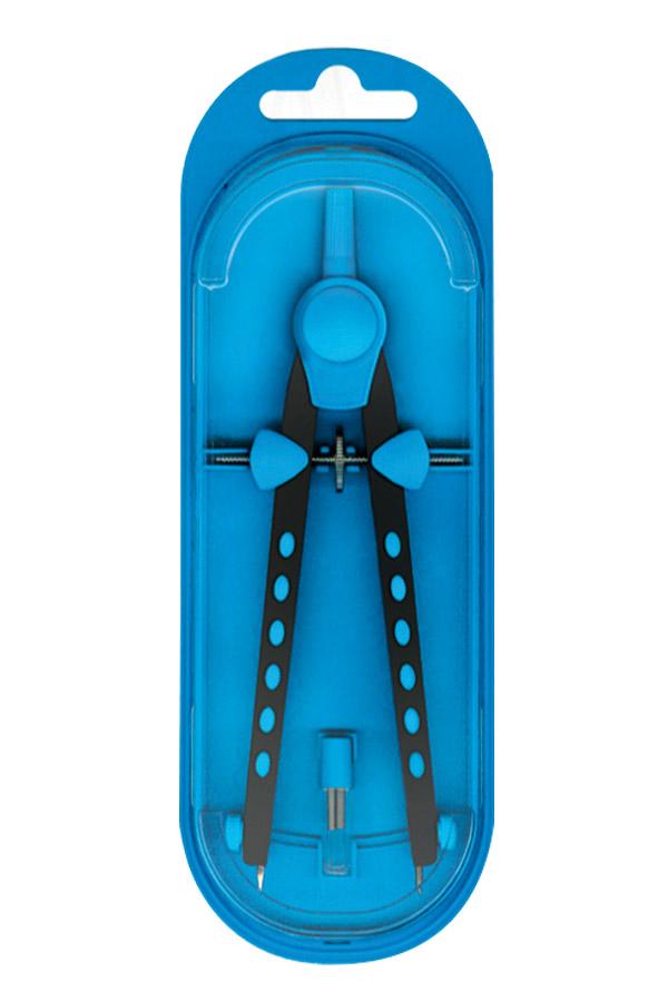 Διαβήτης μεταλλικός με ροδέλα ρύθμισης S.COOL 16cm γαλάζιο SC.231