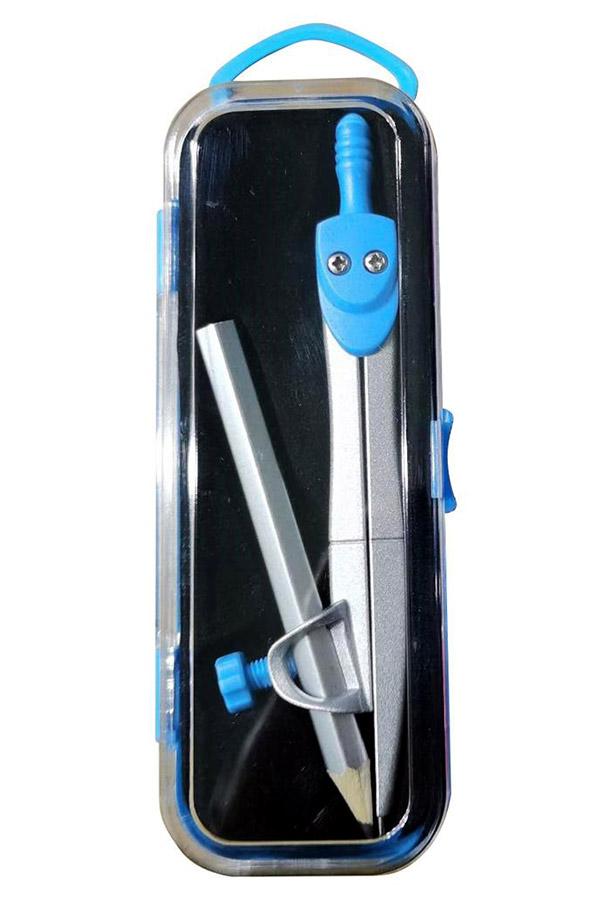 Διαβήτης μεταλλικός με μολύβι the littlies 12cm γαλάζιο 000646816