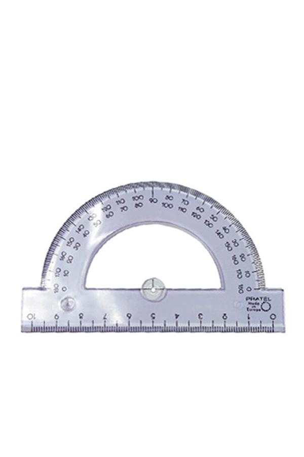 Μοιρογνωμόνιο πλαστικό 10cm 180 μοιρών