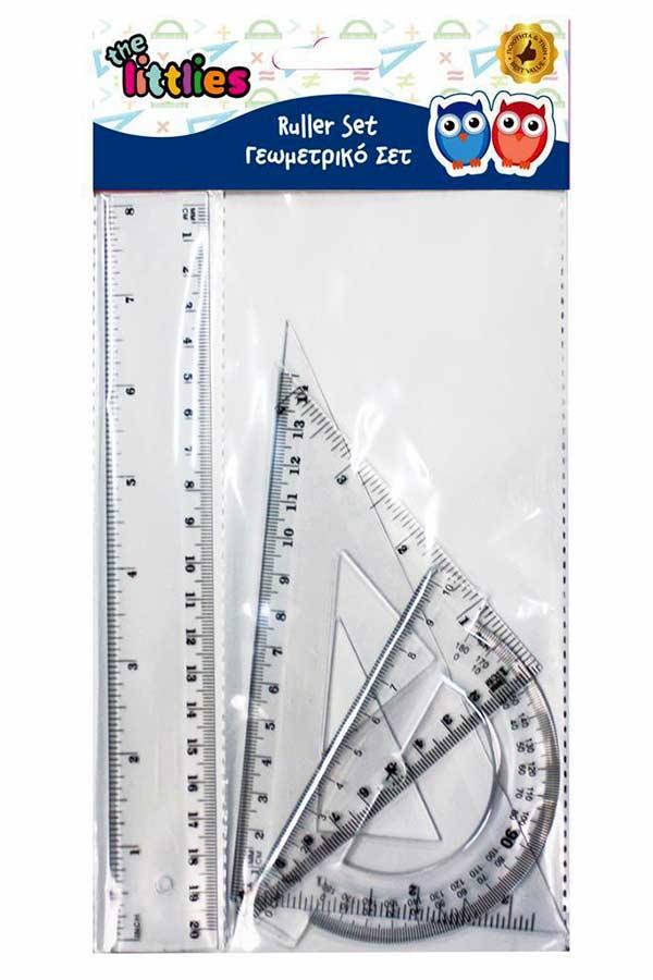 Σετ 4 γεωμετρικά σχήματα 20cm the littlies 646118