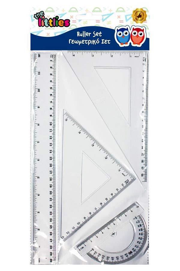 Σετ 4 γεωμετρικά σχήματα 30cm the littlies 646119