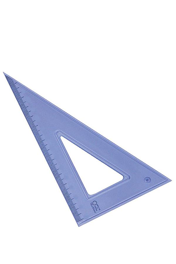 Τρίγωνο πλαστικό 35cm 60 μοιρών