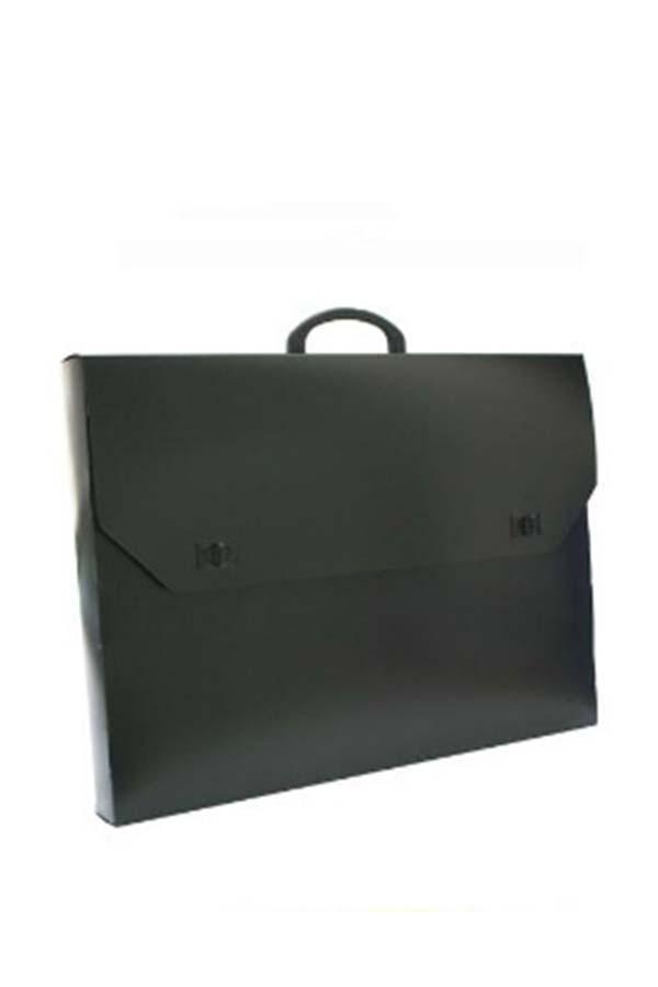 Τσάντα σχεδίου πλαστική μαύρη 40x54cm