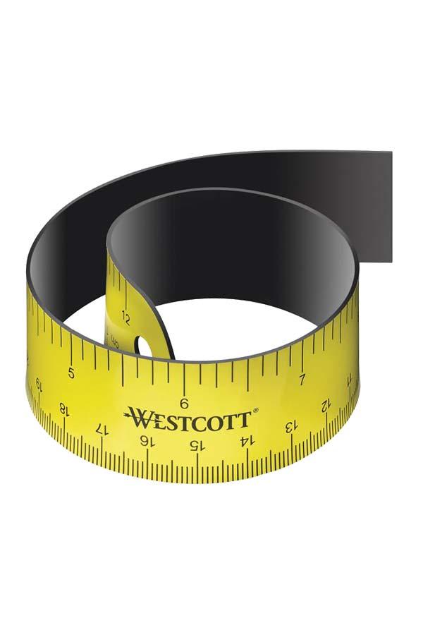 Χάρακας ελαστικός 30cm WESTCOTT Ε1599000