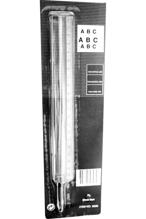 Μεγεθυντικός φακός χάρακας 20cm