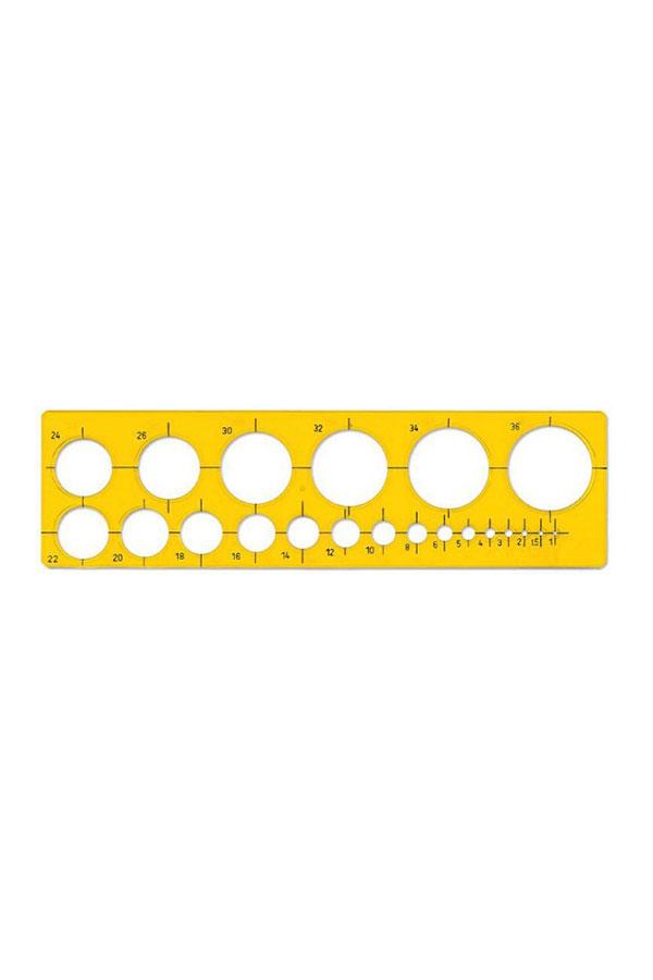 Στένσιλ 21 κύκλων ILCA 73300