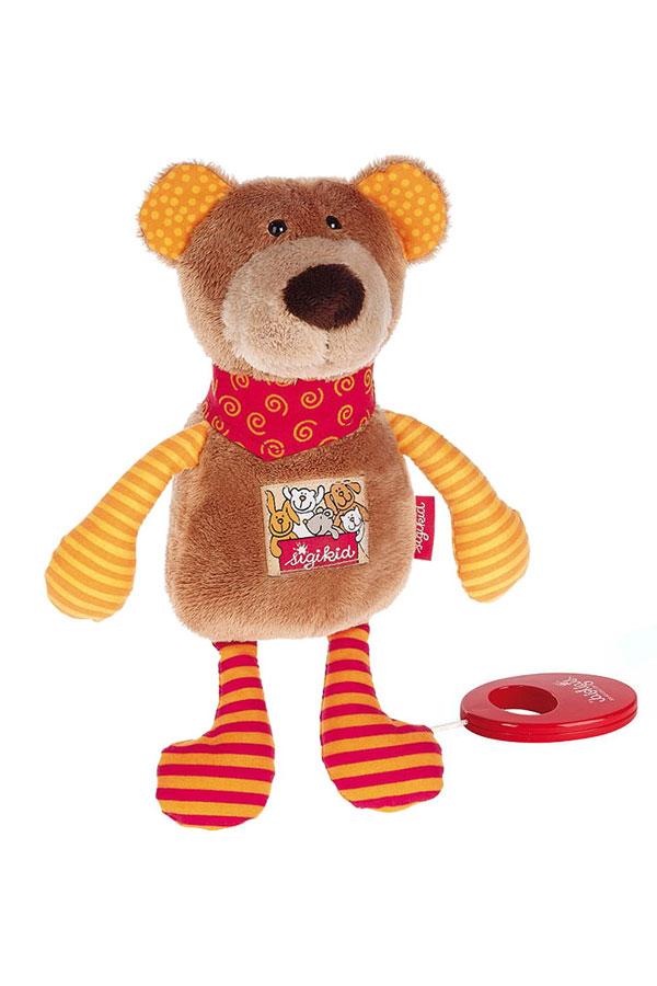 Βρεφικό μουσικό αρκουδάκι sigikid 40357