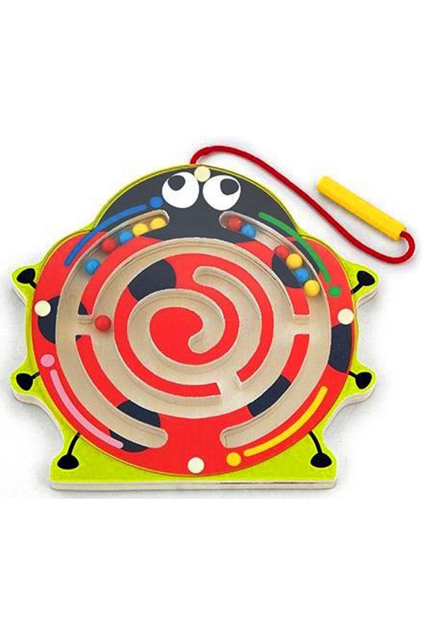 Μαγνητικό παιχνίδι λαβύρινθος Πασχαλίτσα VIGA 59964
