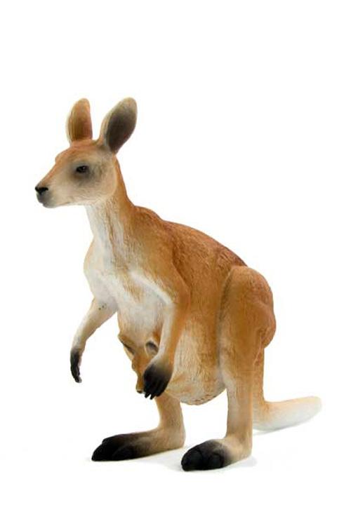 Μινιατούρα Καγκουρό 13x9cm Animal Planet 387022