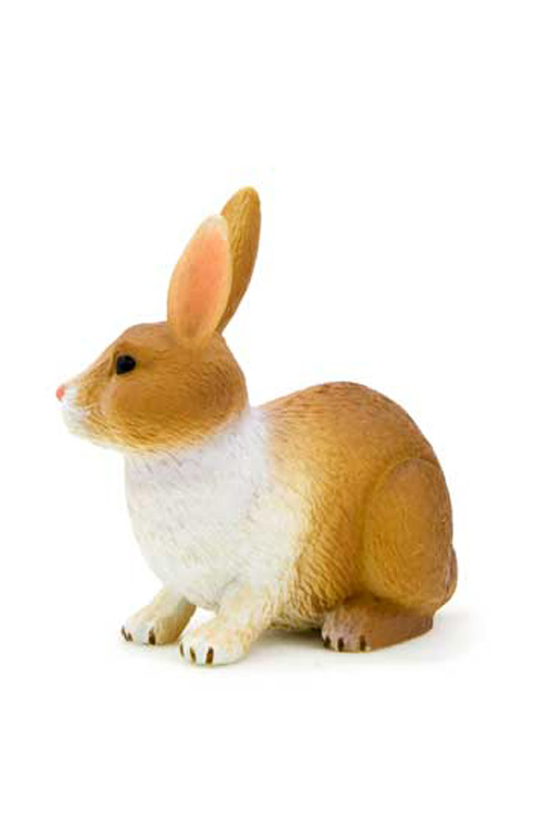 Μινιατούρα Κουνέλι 4x4,5cm Animal Planet 387030