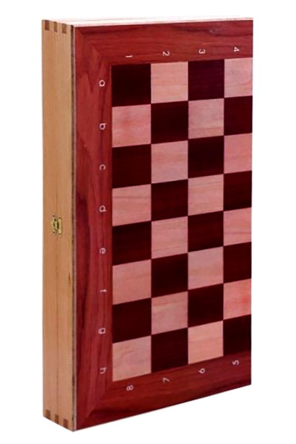 Σκάκι τάβλι μεταξοτυπία πλήρες 50x50cm 198TAB2