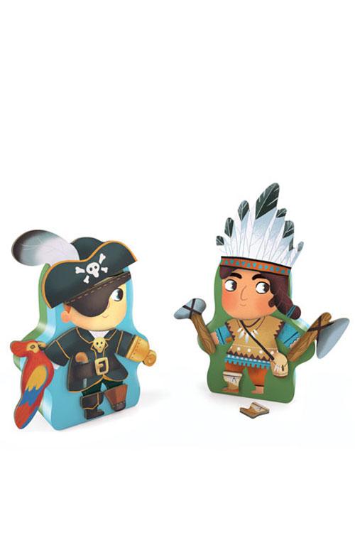 Δημιουργία χαρακτήρων Πειρατές Djeco DJ03083