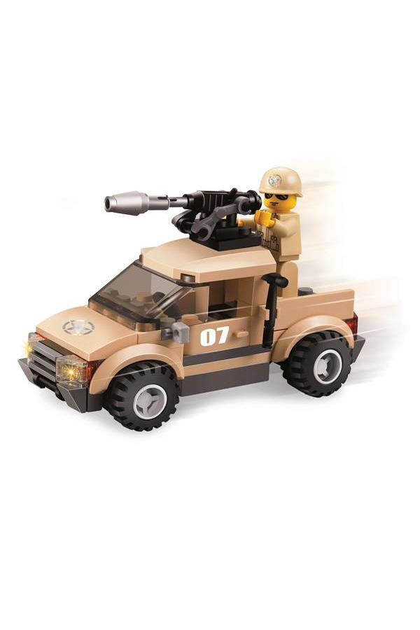 Τουβλάκια κατασκευών Στρατιωτικό όχημα 79 τμχ Stop and Look 0658053