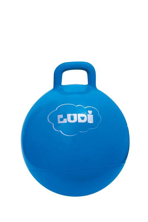 Μπάλα γυμναστικής χοπ χοπ LUDI μπλε 2781