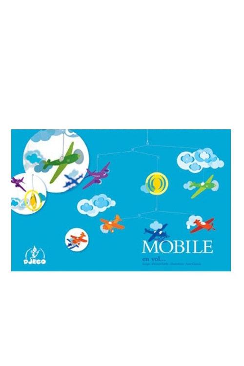Mobile διακοσμητικό οροφής Αεροπλάνα Djeco DD04332