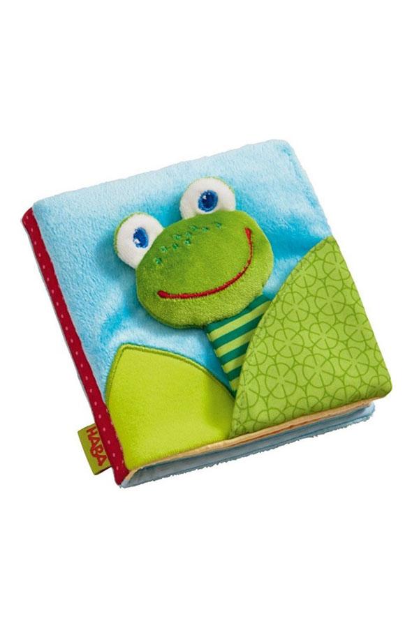Βρεφικό βιβλίο Βάτραχος Haba 302097