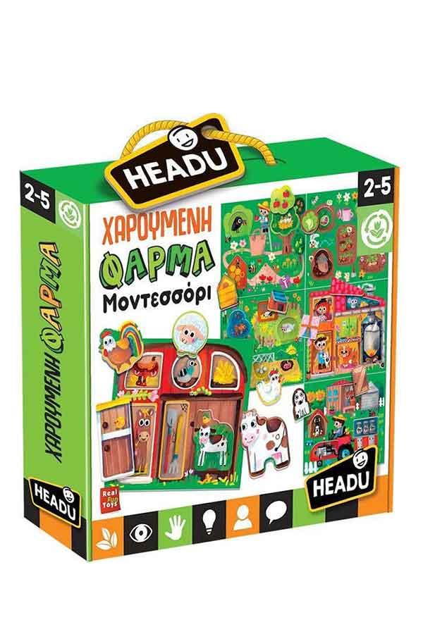 Εκπαιδευτικό παιχνίδι Headu Χαρούμενη φάρμα  EL26326