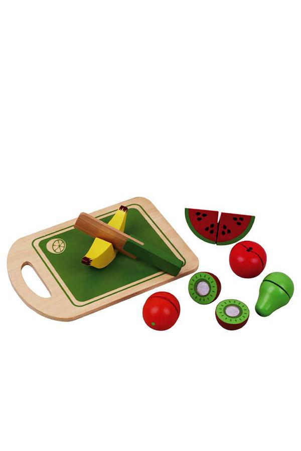 Ξύλινα φρούτα διαίρεσης jumini AB4372