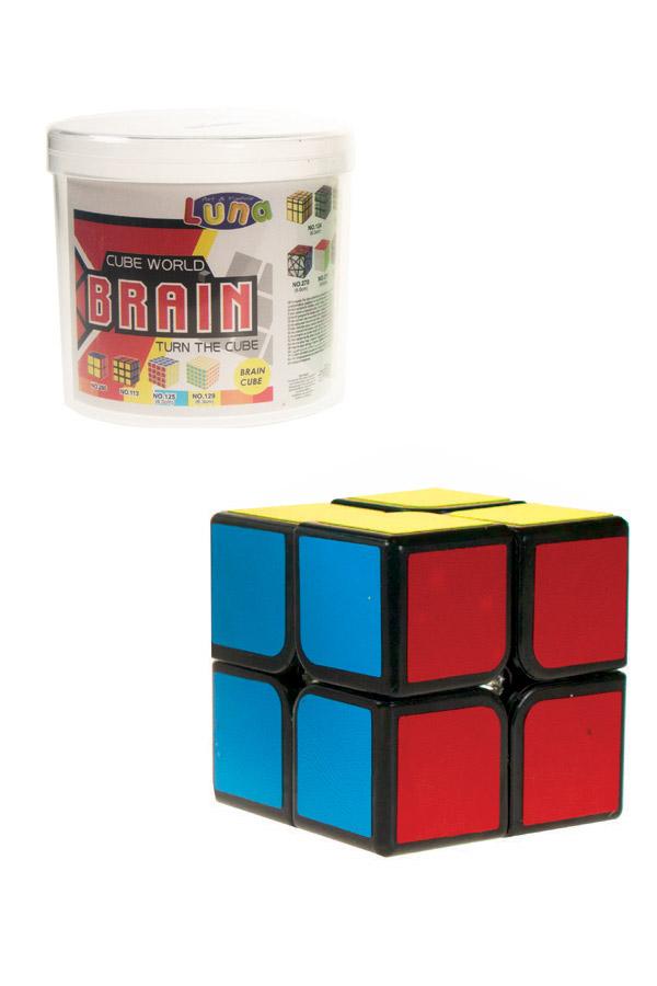 Σπαζοκεφαλιά κύβος 2x2 σε κουτί Luna 0620703