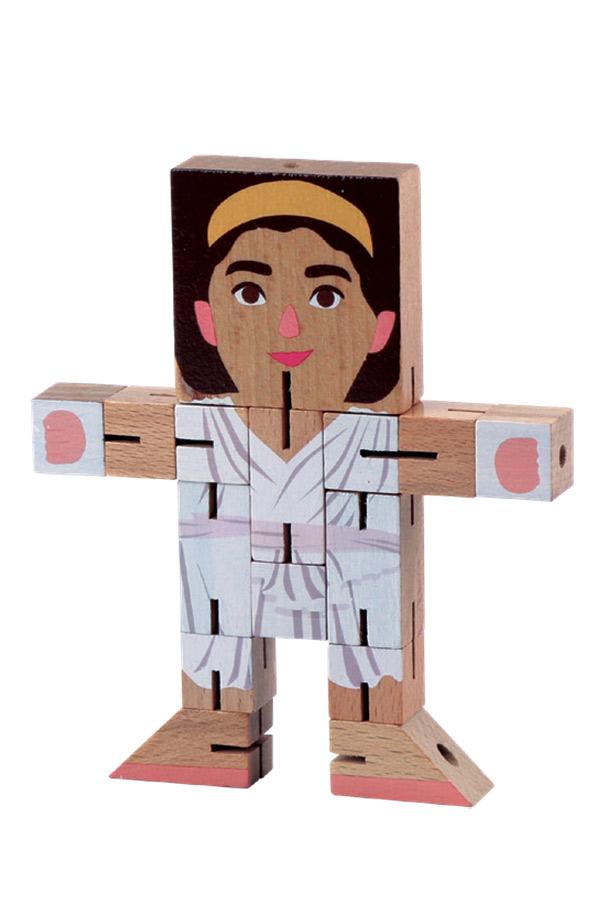 Σπαζοκεφαλιά ρομπότ ξύλινο Ελληνική μυθολογία θεά Άρτεμις Luna 0621073